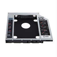 Оптибей ODD переходник для CD DVD 3,5 на 2,5 привода 9.5 мм оптический SATA