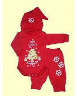 Новогодние боди, костюмы, комплеткы для деток красный