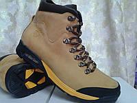 Зимние жёлтые ботинки на шнурках MADOKS, фото 1