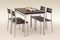 Столовый комплект Halmar Malcolm венге
