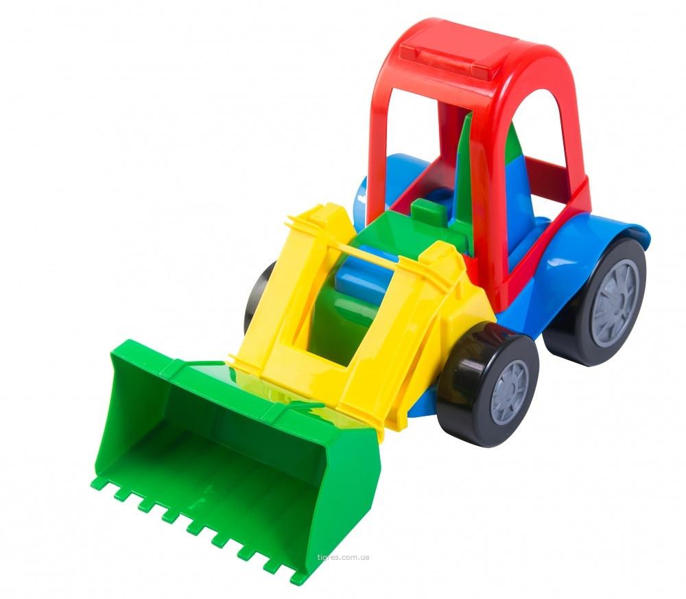 Іграшкова машинка трактор-багі (39230)