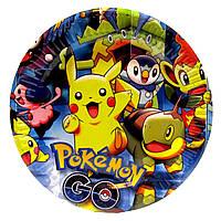 """Тарелки """"Pokemon"""". Размер: 18см. В упак: 10шт."""