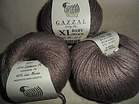 Gazzal Baby Wool XL (Газзал Беби Вул XL)  835 какао