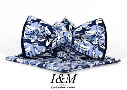 Набор I&M Craft Галстук-бабочка + платок в пиджак (011121), фото 2