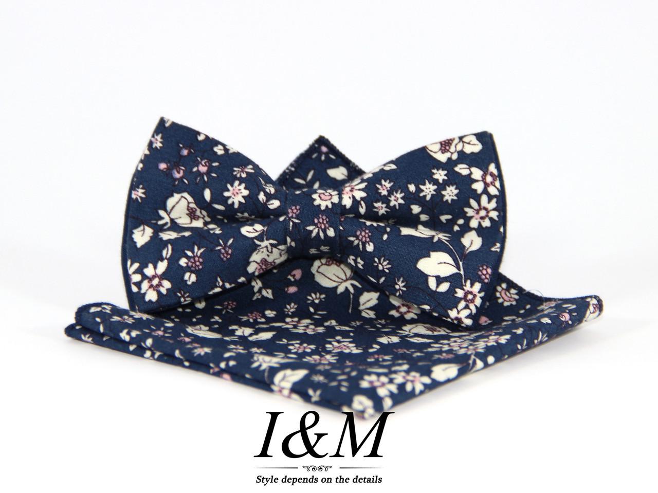 Набор I&M Craft Галстук-бабочка + платок в пиджак (011122)