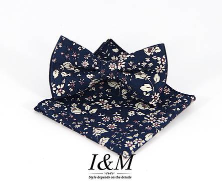 Набор I&M Craft Галстук-бабочка + платок в пиджак (011122), фото 2