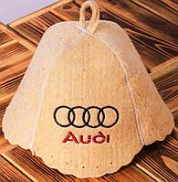 "Шапка для бани ""Audi"""