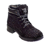 Стильные женские зимние ботинки Foletti