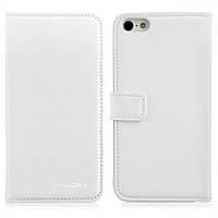 Nuoku BlackBerry Z10 Leather Case White (книжка)