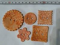 Пуговицы ручной работы покрытые глазурью набор