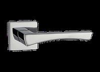 Ручка дверная на розетке Z-1420 полированный или матовый  хром