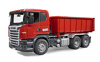 Машинка зі зємним кузовом Scania R Bruder 03522