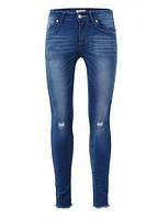 Джинсовые брюки на девочку оптом, Glo-story, 98-128 рр арт.GNK-3414