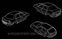 Кузов на Ланос-2 Т150. Крашенный кузов 4-х дв.нотчбек седан tf69y0-5000014. Новый кузов Ланос-пикап. Хэтчбек