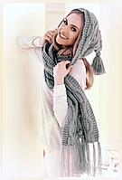 Модный стильный шарф-капюшон от Kamea - Marita женский, зима, бордовый