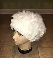Женская шапка из натурального меха