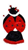 Карнавальный костюм Божья коровка (меховой)