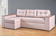 Угловой диван на буковых ламелях, с пружинным блоком, модель Валентин