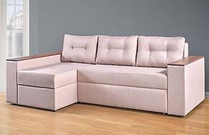 """Угловой диван """"Валентин"""" на буковых ламелях, с пружинным блоком. Производитель Киевский стандарт."""
