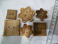 Пуговица керамическая ручной работы - набор