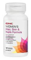 GNC Women's Hair, Skin & Nails Formula 60 tabs