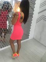 Платье мини открытая спина, фото 1