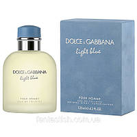 Туалетная вода для мужчин Dolce & Gabbana Light Blue Pour Homme(купить духи дольче габбана лайт блю)