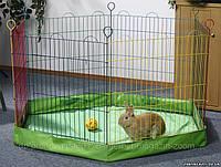 Pet Pro ДНО В ВОЛЬЕР манеж для мелких животных, нейлон, (105X105X10 см)