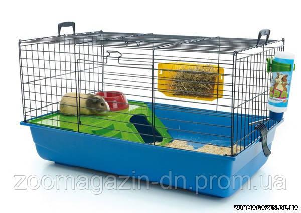 Savic НЕРО 2 ДЕЛЮКС (Nero 2 De Luxe) клетка для кроликов, (80x50x44 см)