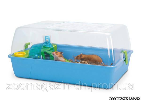 Savic РОДИ (Rody Hamster) клетка для хомяков, (55x39x26 см)