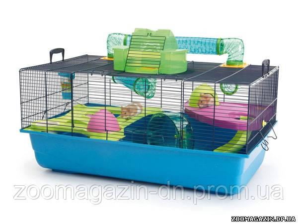 Savic ХАМСТЕР МЕТРО (Hamster Heaven Metro) клетка для хомяков, (80x50x50 см)