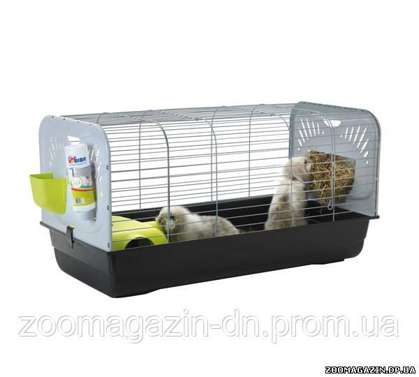 Savic ЦЕЗАРЬ 3 ДЕ ЛЮКС (Ceasar 3 De luxe) клетка для кроликов, (100x50x51 см)