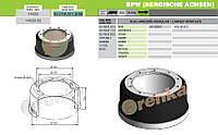 Барабан тормозной BPW-ECO 420x180  0310967130