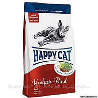 Happy Cat (Хэппи Кэт) Supreme Adult Fit & Well, 10 кг., сухой корм для кошек длинношерстных и короткошерстных пород с говядиной