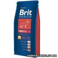 BRIT (Брит) Adult Large Breed, сухой корм для взрослых собак крупных пород с курицей (15 кг)