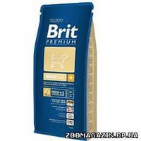 BRIT (Брит) Premium Adult Medium, сухой корм для собак средних пород с курицей 15 кг