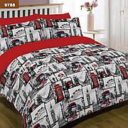 9788 Полуторное постельное белье ранфорс Viluta