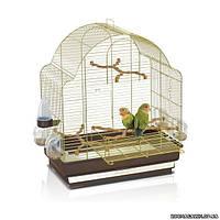 Imac ЭЛИСА (ELISA) клетка для средних попугаев, пластик, латунь 50х30х58 см.