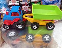 Детская машина игрушка  трактор для мальчиков с большими  колесами Багги