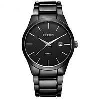 Мужские часы CURREN 8106 Black черные, фото 1