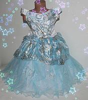 Нарядное  красивое платье для девочек 3-7 лет,  корсет (шнуровка, на молнии), производство Украина