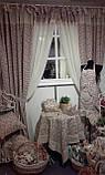 Гардины  Батист Rosette, 170х145 см, фото 2