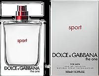 Мужские туалетные духи Dolce&Gabbana The One Sport for Men(Дольче Габбана Зе Ван Спорт фо Мен)бодрящий AAT