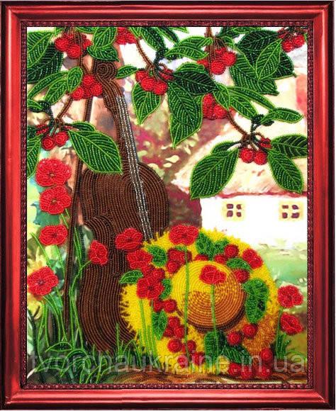 """Набор для вышивки бисером """"Вишневый сад"""""""