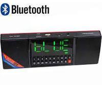 Портативная MP3 колонка Часы USB Радио Bluetooth WS-1515BT