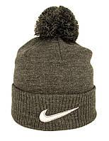 Шапка Nike с бубоном , двойная