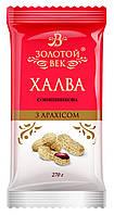Халва подсолнечная с арахисом Золотой Век 270 гр