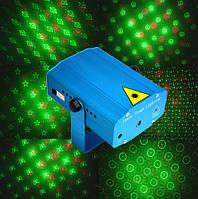 Лазер музыкальный X-07 (точки, сердечки, звездочки, улыбки)