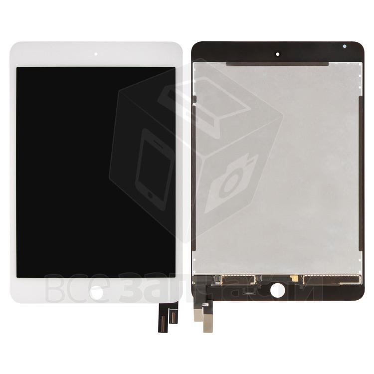 Дисплейный модуль для Apple iPad Mini 4, белый