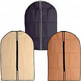 Чехол для одежды 137х60 см.(кремовый спанбонд), фото 4